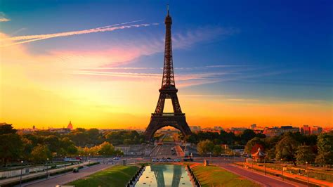 wallpaper eiffel tower paris france   world