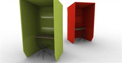 Workstation furniture / Office partition BUZZI BOOTH ...