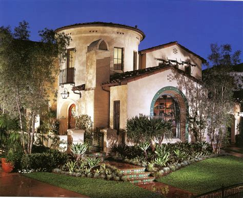photo  spanish style villa ideas house plans