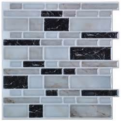 kitchen backsplash decals peel n stick kitchen backsplash tiles brick pattern wall stickers 12 x 12 in