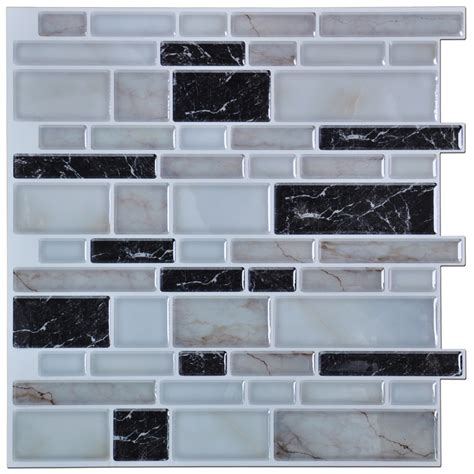 wall tiles kitchen backsplash peel n stick kitchen backsplash tiles brick pattern