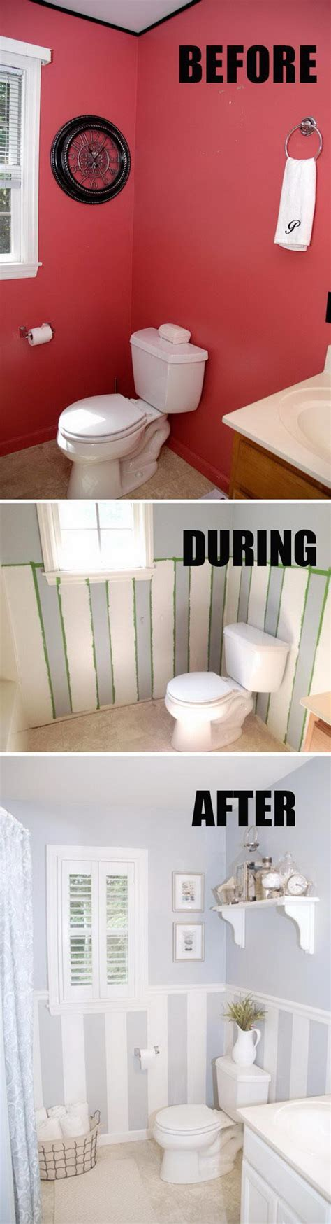 Bathroom Makeovers Diy by 50 Gorgeous Bathroom Makeovers With Before And After