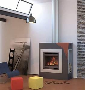 Cheminée Bois Design : cheminee insert a bois ~ Premium-room.com Idées de Décoration