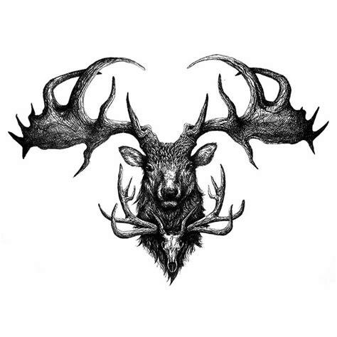 tatouage cerf tatouage ephemere cerf tatouage tete de cerf
