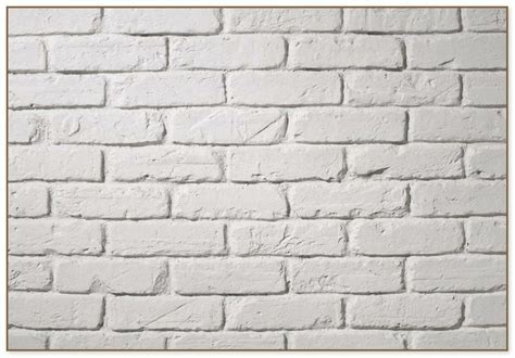 White Brick Wall Panels