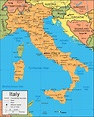 Italy Map and Satellite Image