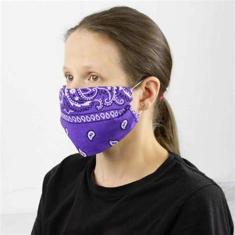 bandana mask     easiest  sew face mask