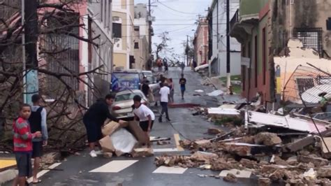 Hurricane Maria Wipes Out Electric Grid In Puerto Rico
