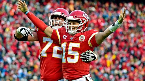 Afc Championship 2020 Patrick Mahomes Helps End 50 Year