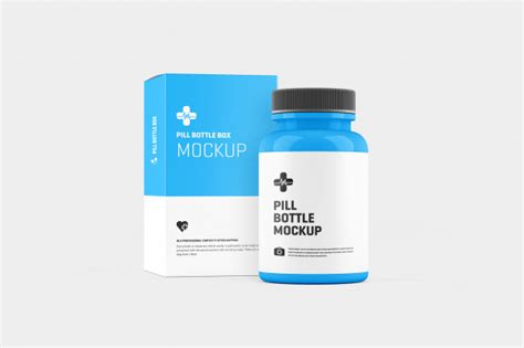 Free customizable juice bottle mockup is here to fulfill your presentation needs. Pill bottle mockup PSD file | Premium Download