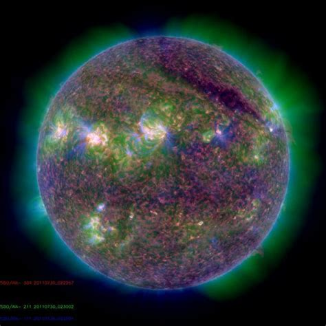 solar flare may spark dazzling northern lights displays