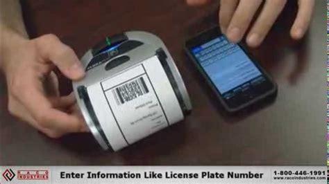 printing receipts  iphone  zebra imz printer youtube