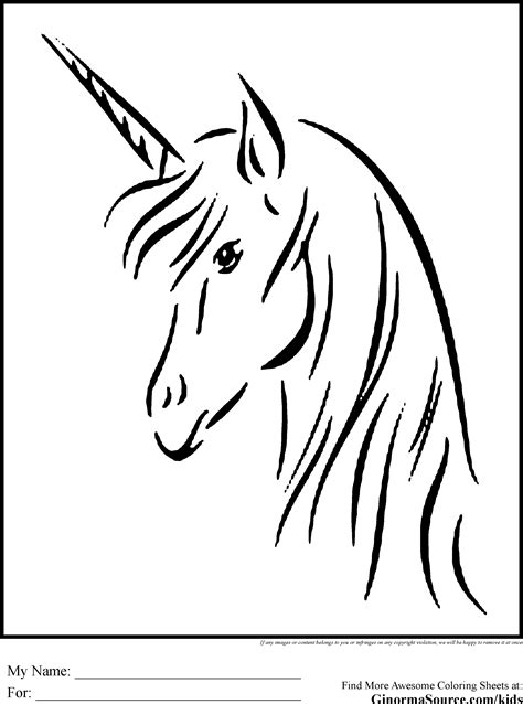 Unicorn | Embroidery | Unicorn drawing, Unicorn coloring pages, Unicorn painting