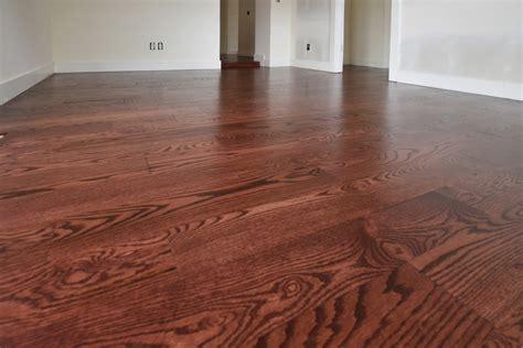 red mahogany stain   red oak flooring  flooring