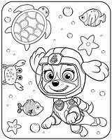 Patrol Paw Zuma Coloring Pages Marshall Printable Pa Getcolorings Cartoons sketch template