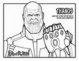 Thanos Coloring Avengers Infinity War Drawing Gauntlet Printable Draw Easy Marvel Fortnite Lego Coloriage Colorear Sketch Stones Line Drawings Zum sketch template