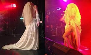 Lady Gaga Exposes Her Private Body Parts On Stage In London Show