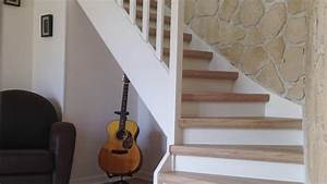 Renover Un Escalier En Bois : comment r nover mon escalier youtube ~ Premium-room.com Idées de Décoration