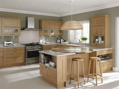 By nature, oak is strong. kitchen | Kitchen island cabinets, Kitchen design ...