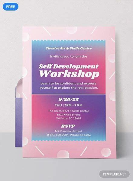 workshop invitation event invitation templates
