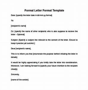 Sample, Formal, Letter, Format