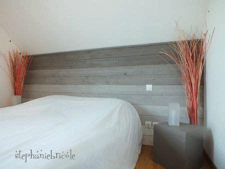 tete de lit a faire soi meme en bois