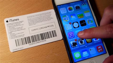 how to load itunes gift card on iphone ios 7 itunes gift card scanner