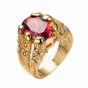 size 8 9 10 11 12 shining red cz ruby wedding ring 14kt With size 10 wedding ring