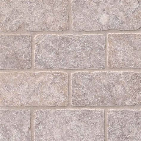 3x6 travertine subway tile subway tile silver travertine subway tile 3x6 tumbled