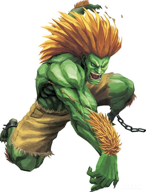 Blanka Street Fighter Street And Gaming