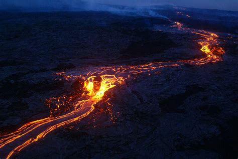 globe in the blog the kilauea and the hawaii volcanoes usa