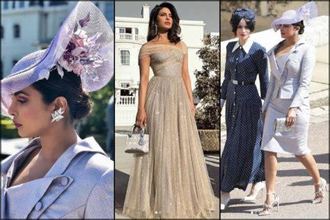 The World Is Praising Priyanka Chopra's Choice Of Outfit At Prince Harry, Meghan Markle's Royal