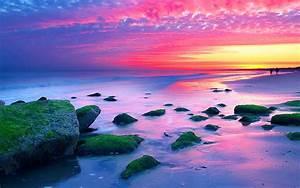 Nature, Landscapes, Sunset, The, Hague, Netherlands, Sea, Coast