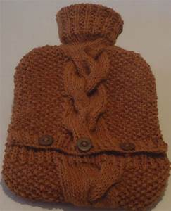 Hot Water Bottle Cover knit a cosy cover for your hot ...