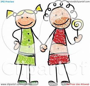 Clipart Stick Drawing Of Two | Clipart Panda - Free ...