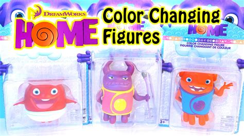color changing toys dreamworks home color changing boov figures