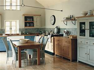 Commencer creer une deco de cuisine au style campagne for Kitchen colors with white cabinets with papier peint décoration murale