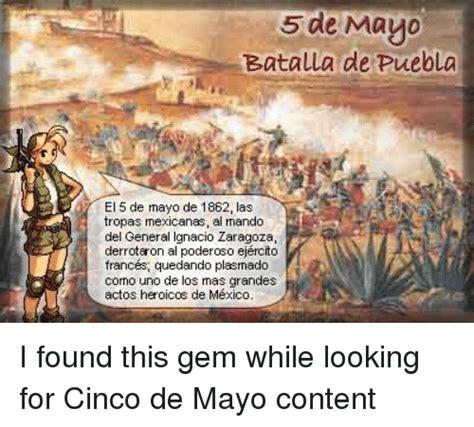 5 De Mayo Batalla De Puebla El 5 De Mayo De 1862 Las ...