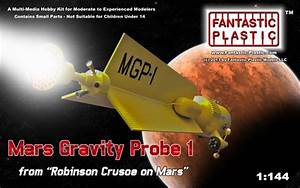 Mars Gravity Probe1 by Fantatic Plastic Models
