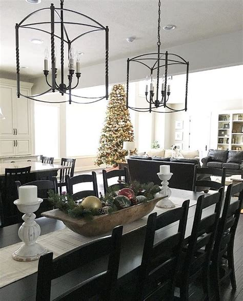 Eat in kitchen, farmhouse dining table overlooking