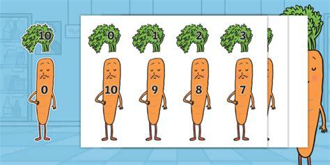 * New * Carrot Club Number Bonds To 10 Cutouts  Twinkl Originals, Fiction