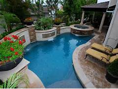 50 Foto Di Piccole Piscine Interrate Per Piccoli Giardini Nice Water Tumbling From The Spa To The Pool And Several Comfortable Backyard Pool Designs For Small Yards 7 Following Inspiration Article Refreshing A Swimming Pool Landscape All About The House
