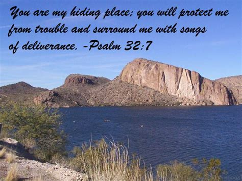 encouraging quote   day god   hiding place