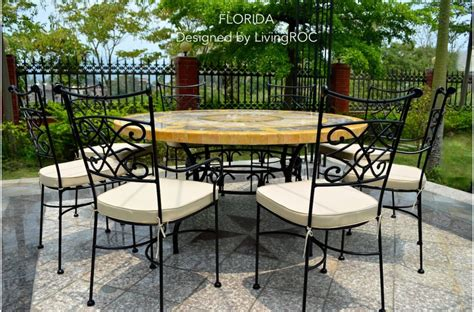 mosaic outdoor dining table 49 quot outdoor patio garden round table mosaic marble stone