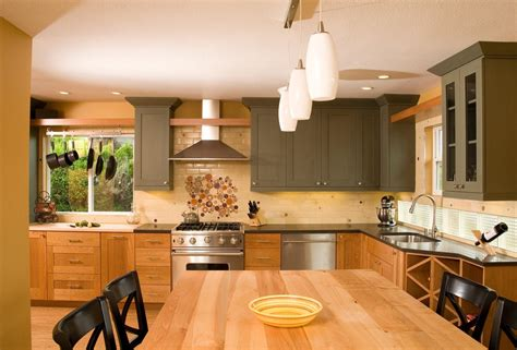 two tone kitchen designs 6 ways to try the kitchen trends without the 6436