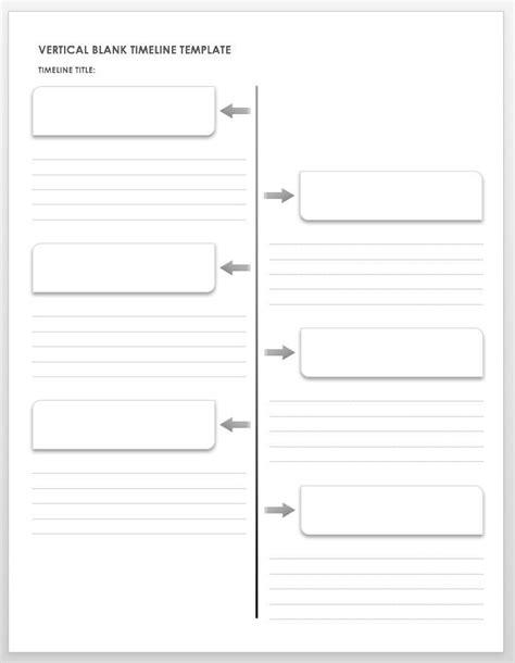 blank timeline templates smartsheet