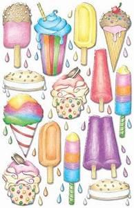 Ice Cream Border Paper | Ice Cream Truck Scrapbooking ...