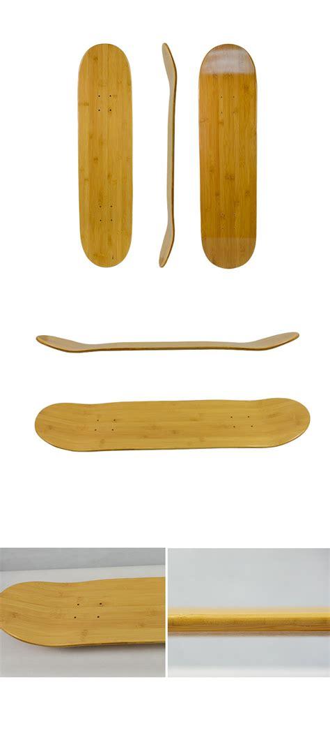 high quality bamboo blank skateboard decks plain bamboo