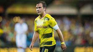 Mario Gotze plays 60 minutes as Borussia Dortmund lose ...