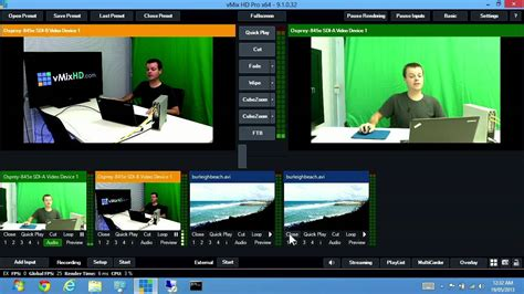 Vmix  Live Production Software 2013 Demonew Video In